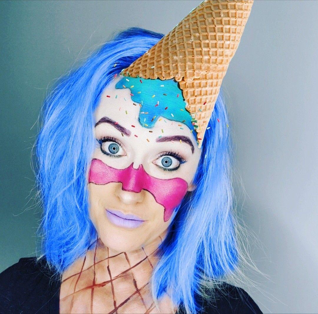 Dark Blue Hair Blue Hair Dark Blue Makeup