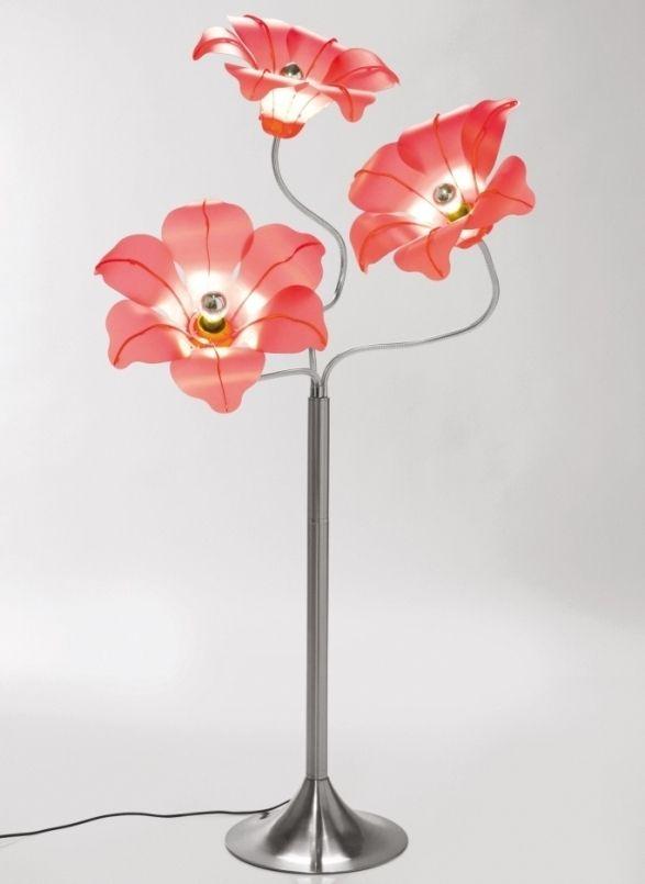 Sie Mögen Blumen Dann Ist Diese Stehlampe Im Blumen Design Genau Richtig Für  Sie. Die Stehleuchte Bloom Von Kare Design Sie Spendet Durch Ihre Roten ...