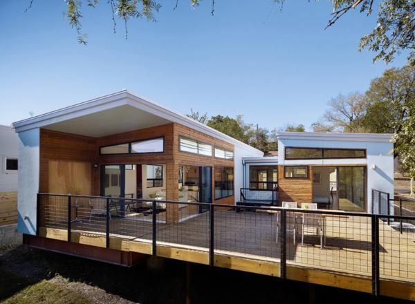 6 prefab houses that could change home building green for Townhouse construction cost