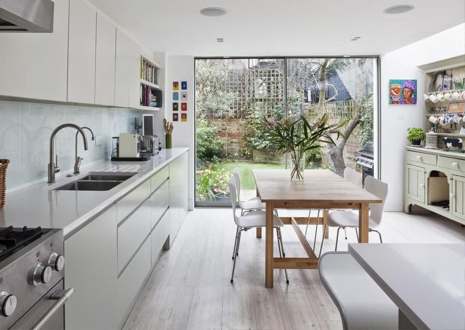 London Terraced House Space Ideas Google Search Victorian House Interiors Kitchen Interior Open Plan Kitchen Dining