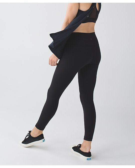 c2ab590ae NWT Lululemon Shine Tight High Rise Pant - black - size 4