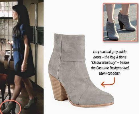 rag \u0026 bone boots altered for Lucy Liu