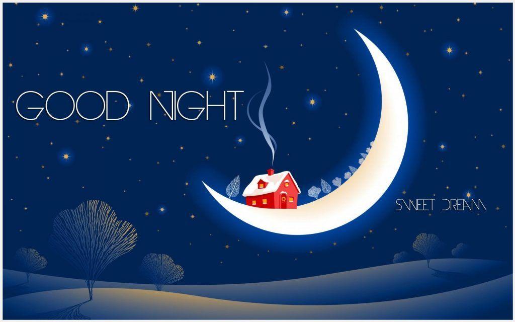 Good Night Sweet Dreams HD Wallpaper