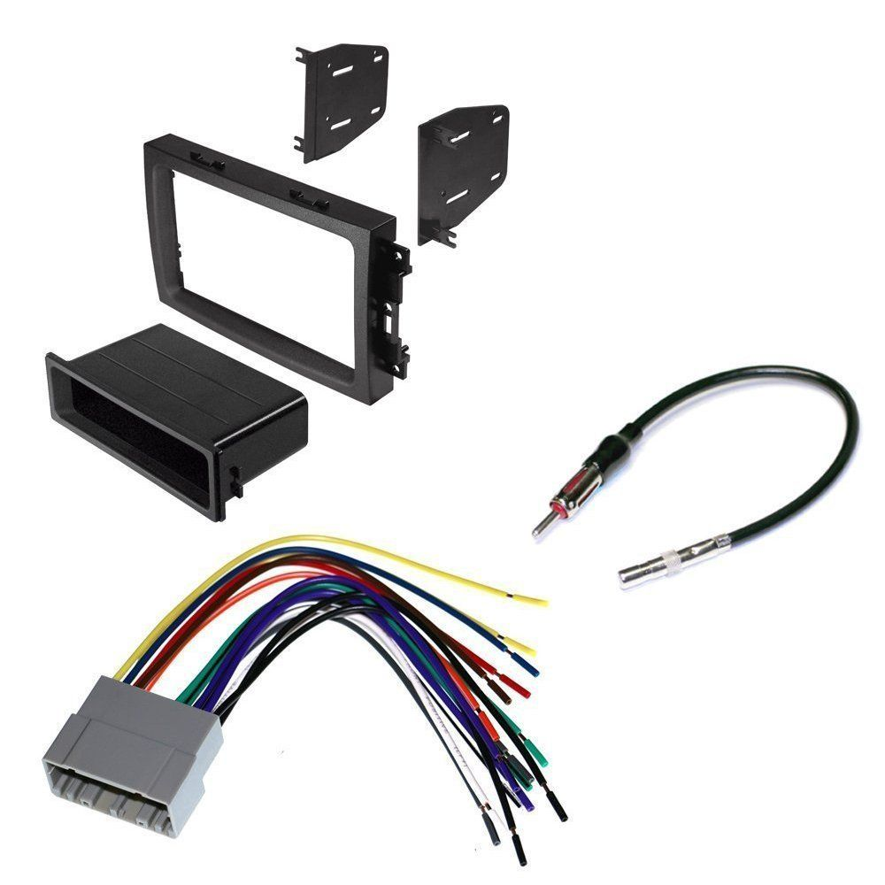 JEEP 2006 - 2007 COMMANDER CAR CD STEREO RECEIVER DASH INSTALL ...