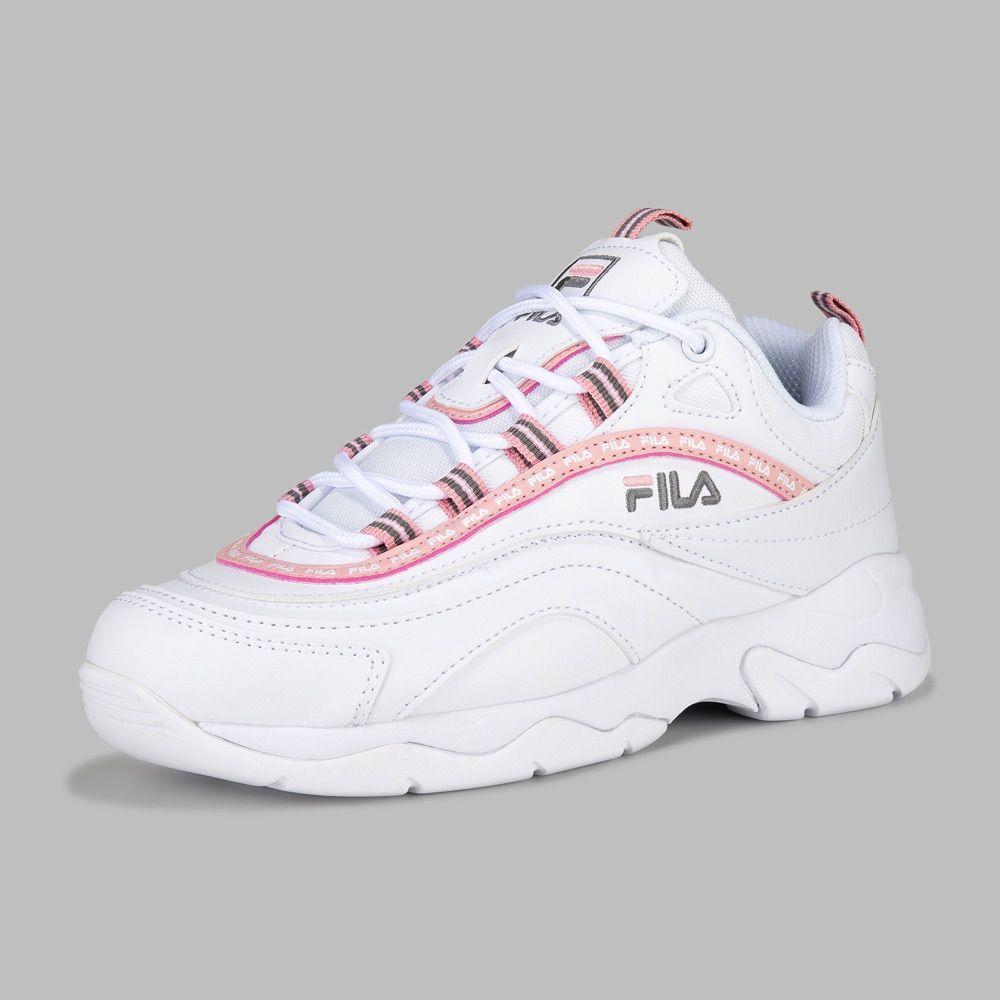 Tenis Fila Ray Repeat Mujer en 2020 | Zapatos tenis para