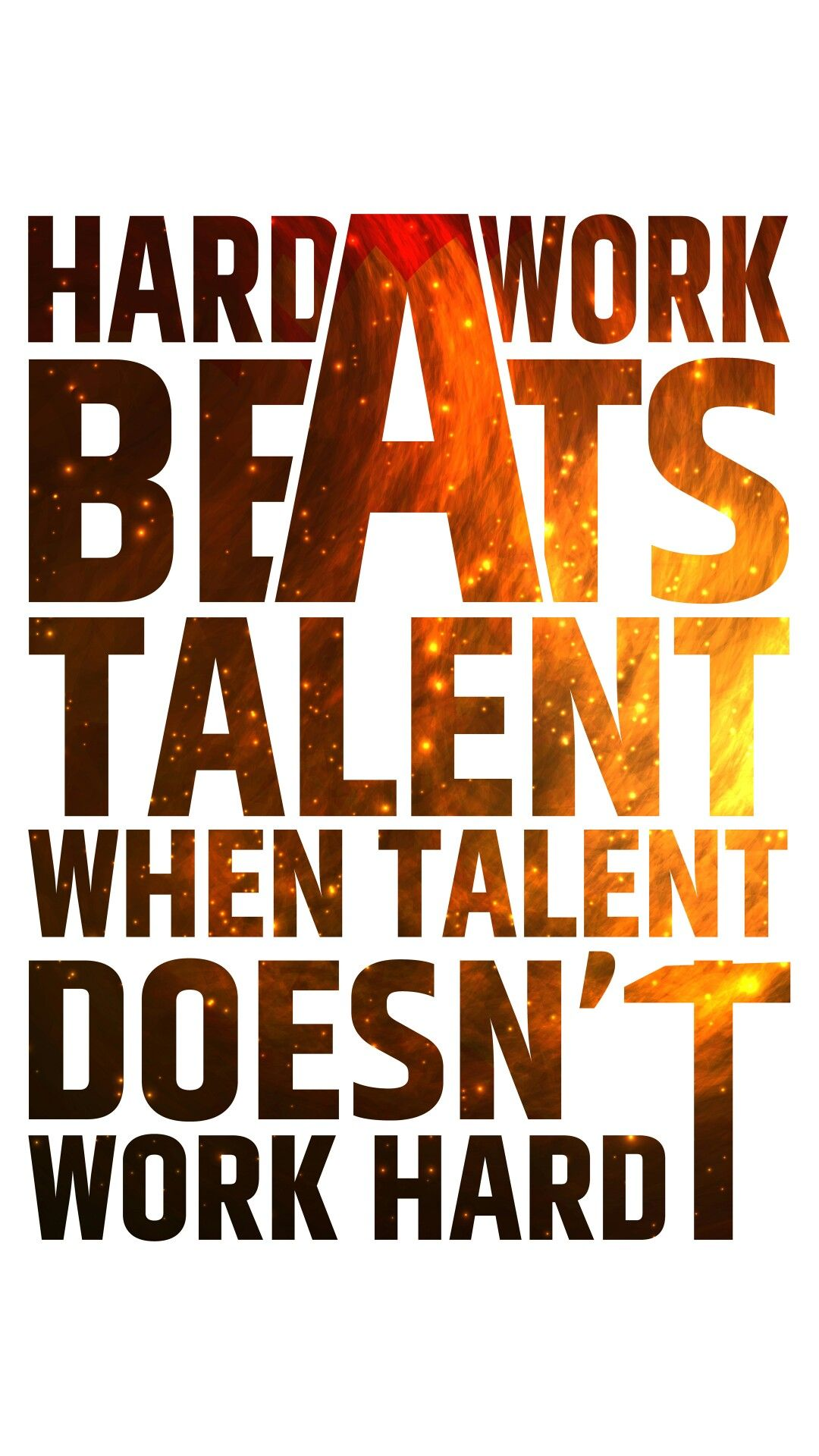 Pin by iNOSknayam on i QuotEs Hard work beats talent