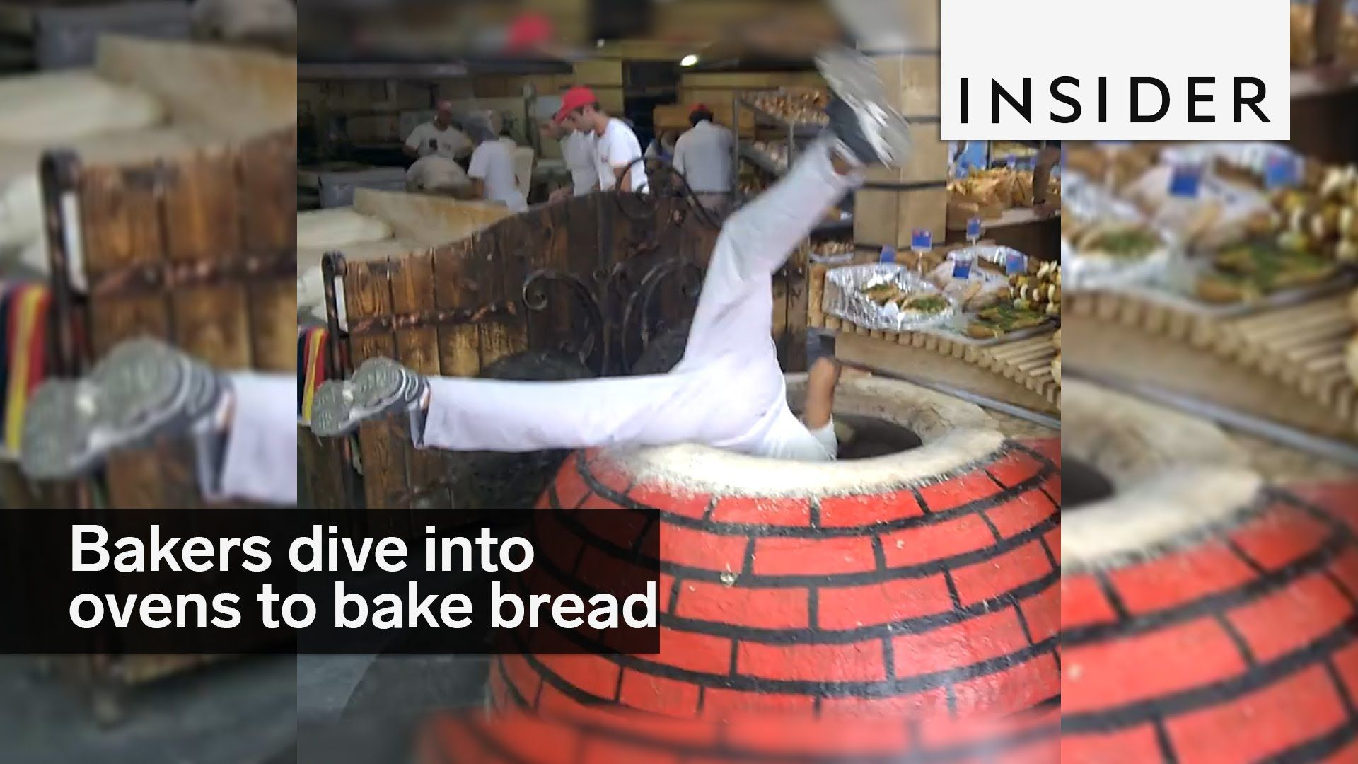 Bakers dive into ovens to bake this bread