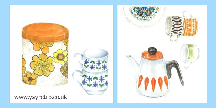 yay retro! chat to Lucy King Designs - Retro and Vintage China, Glassware and Kitchenalia - yay retro!