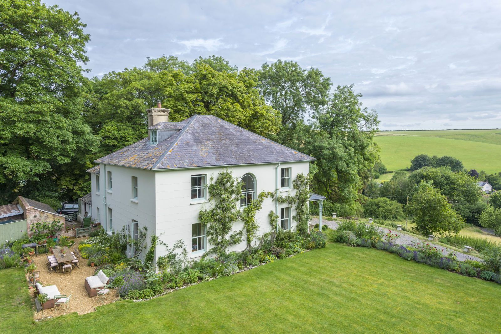 Book lovers will adore this former rectory for sale in Dorset ...
