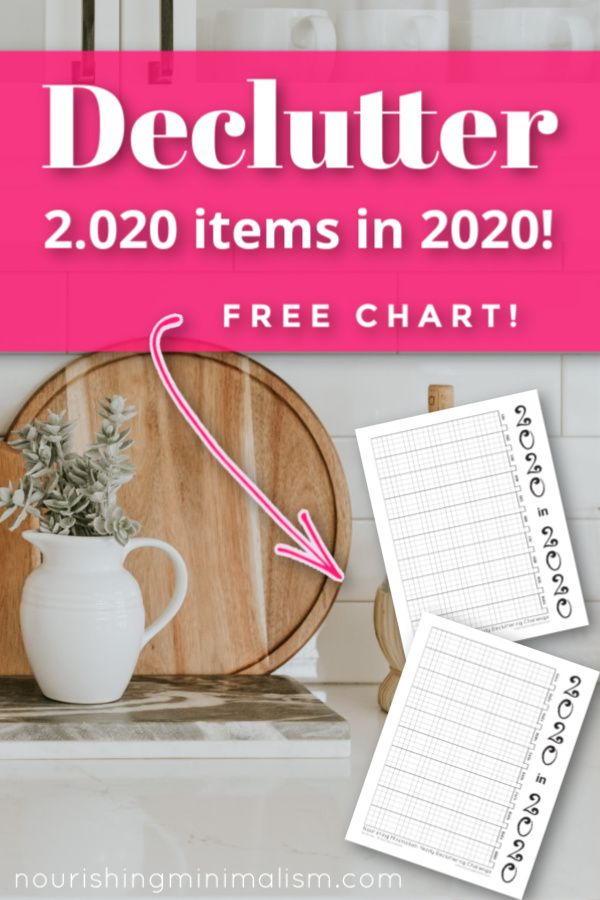 2020 In 2020 Decluttering Challenge Declutter Diy Organization