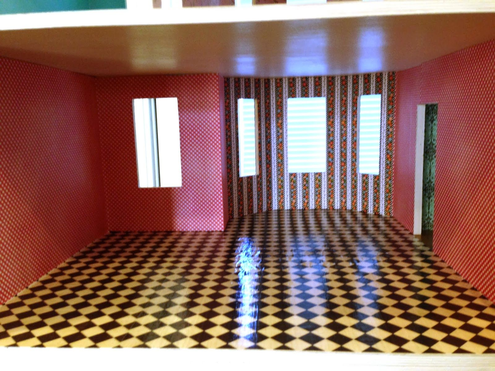 Post On Floor And Wall Treatments For A Dollhouse