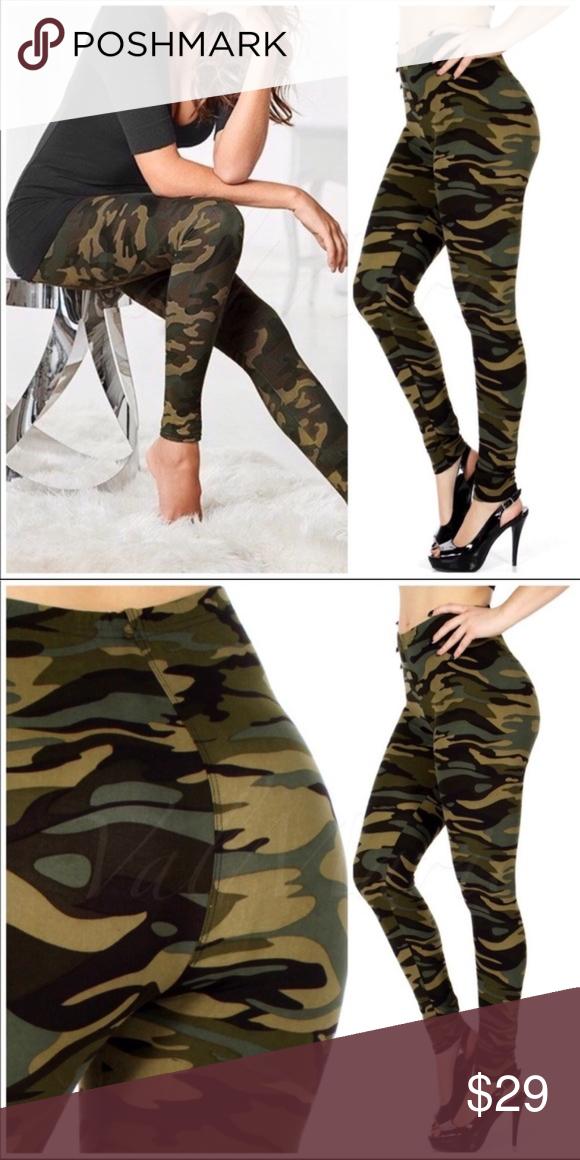 Ultra Soft Camo Leggings