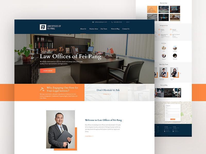 Website Design For Law Office Website Design Law Office Design