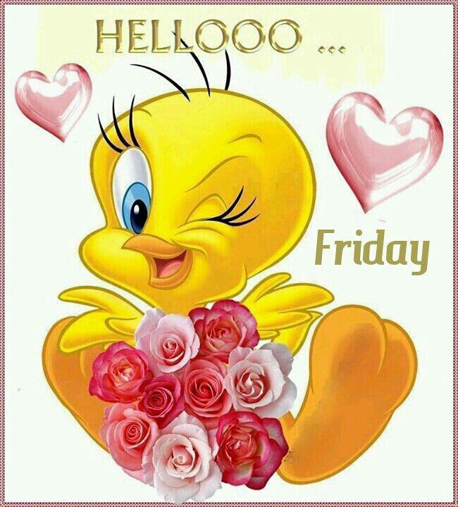 Hello it's Friday