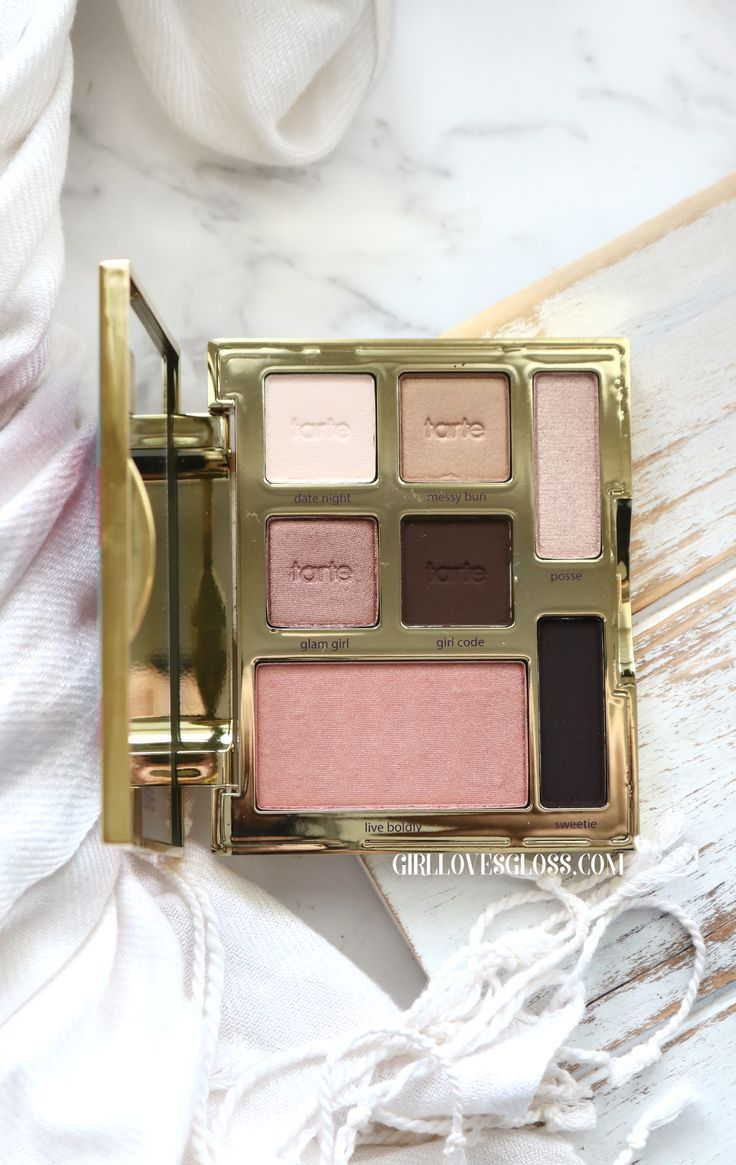 According to Tarte Happy Girls Shine Brighter! Makeup