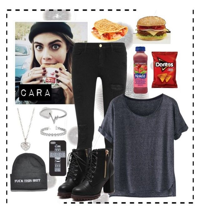 """Getting some lunch. Who want's to join me? ~Cara"" by lukeimbatman ❤ liked on Polyvore featuring мода, Komar, Frame Denim, Wrap, Jewel Exclusive, Finn, Allurez, women's clothing, women's fashion и women"
