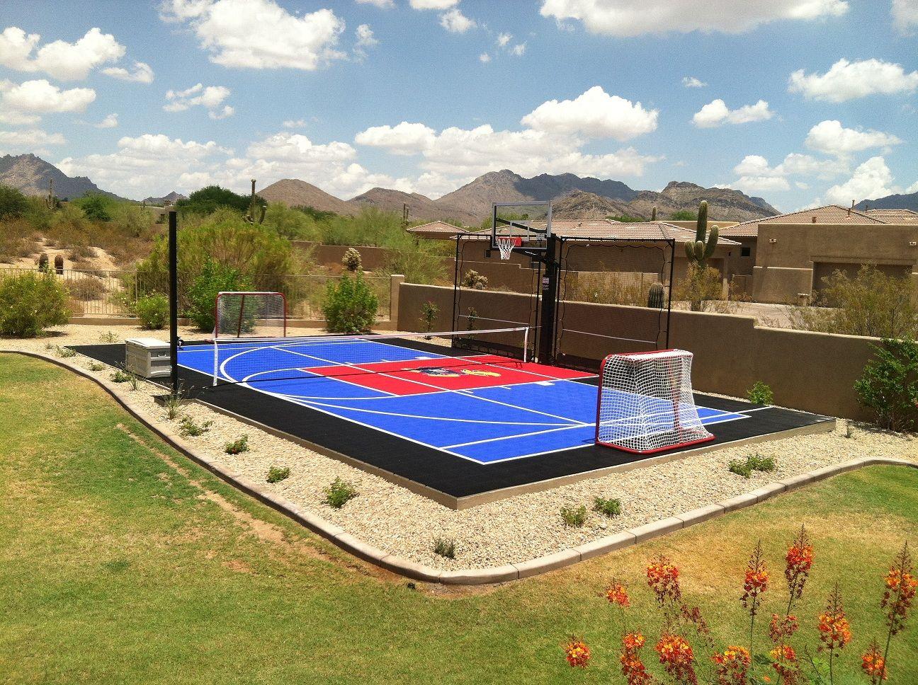 sport court in north scottsdale backyard sport court pinterest