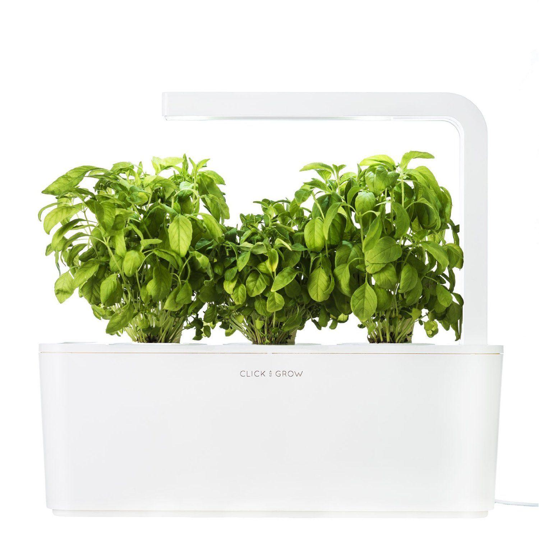 Click & Grow Indoor Smart Herb Garden with 3