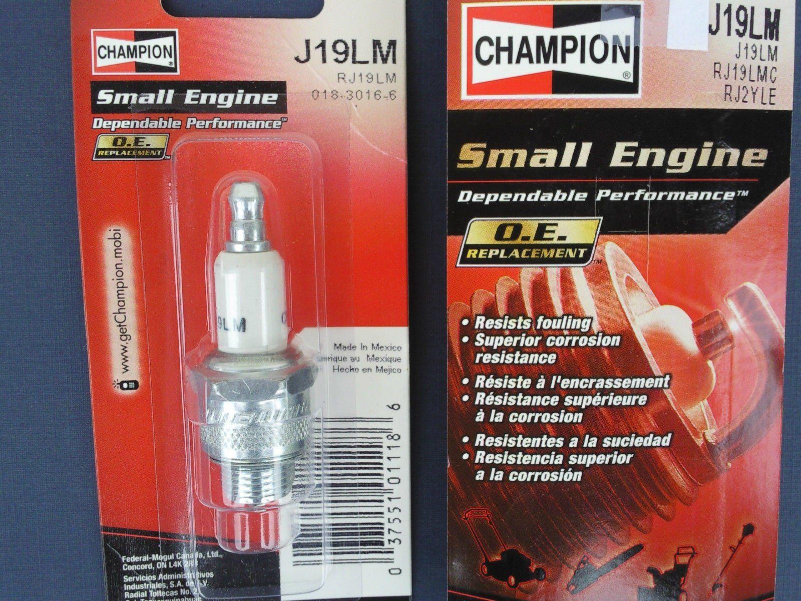 CHAMPION SPARK PLUG J19LM *8611 Replaces RJ19LM B2 B2LM B4LM