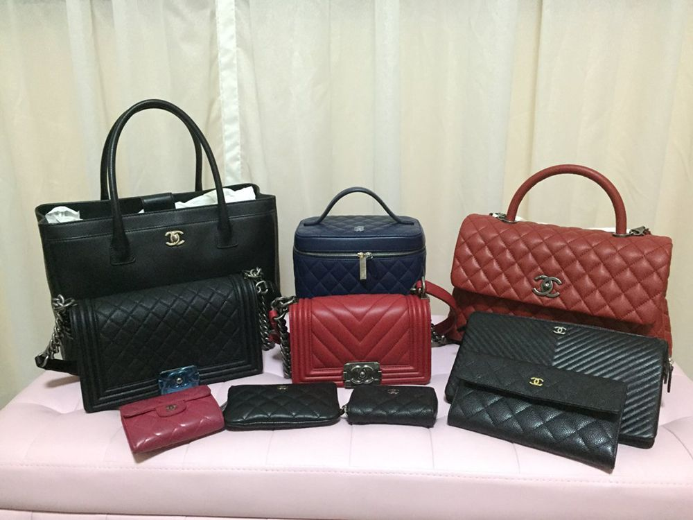 9c9220da8a4c One Big Happy Family  Check Out Our PurseForum Members  Epic Chanel Family  Bag Portraits