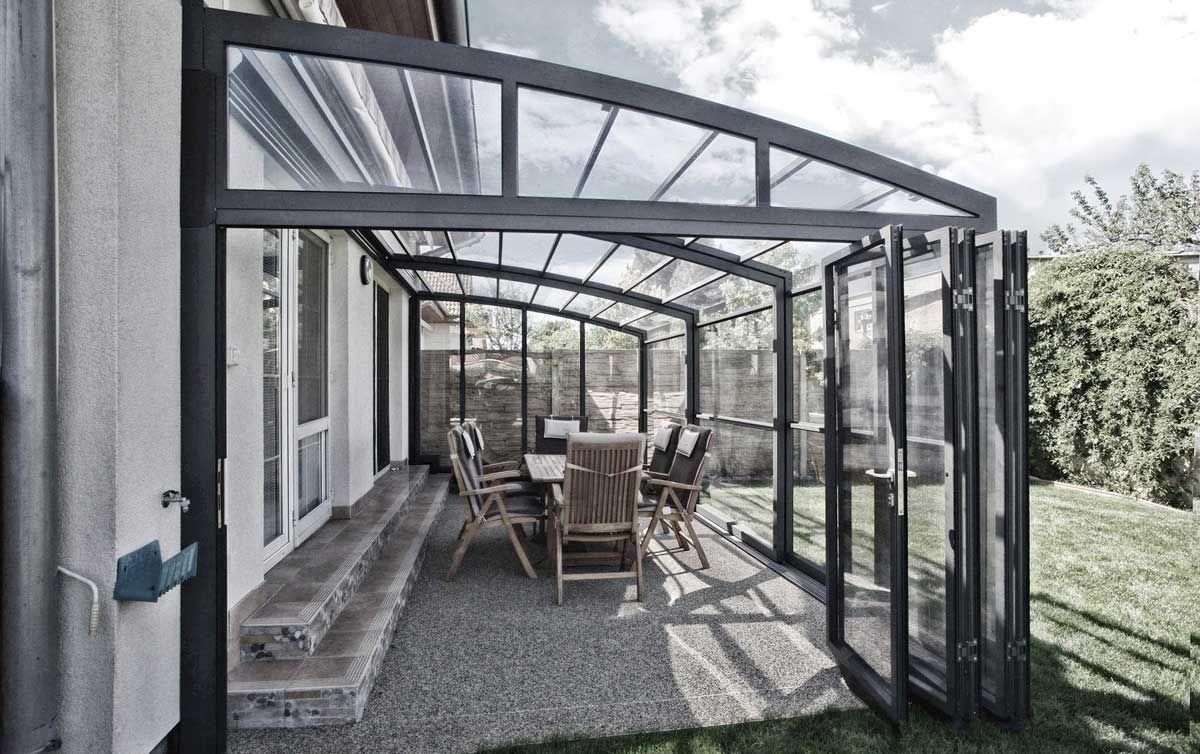 Veranda Retractable V18 En 2020 Terrasse Exterieure Terrasse