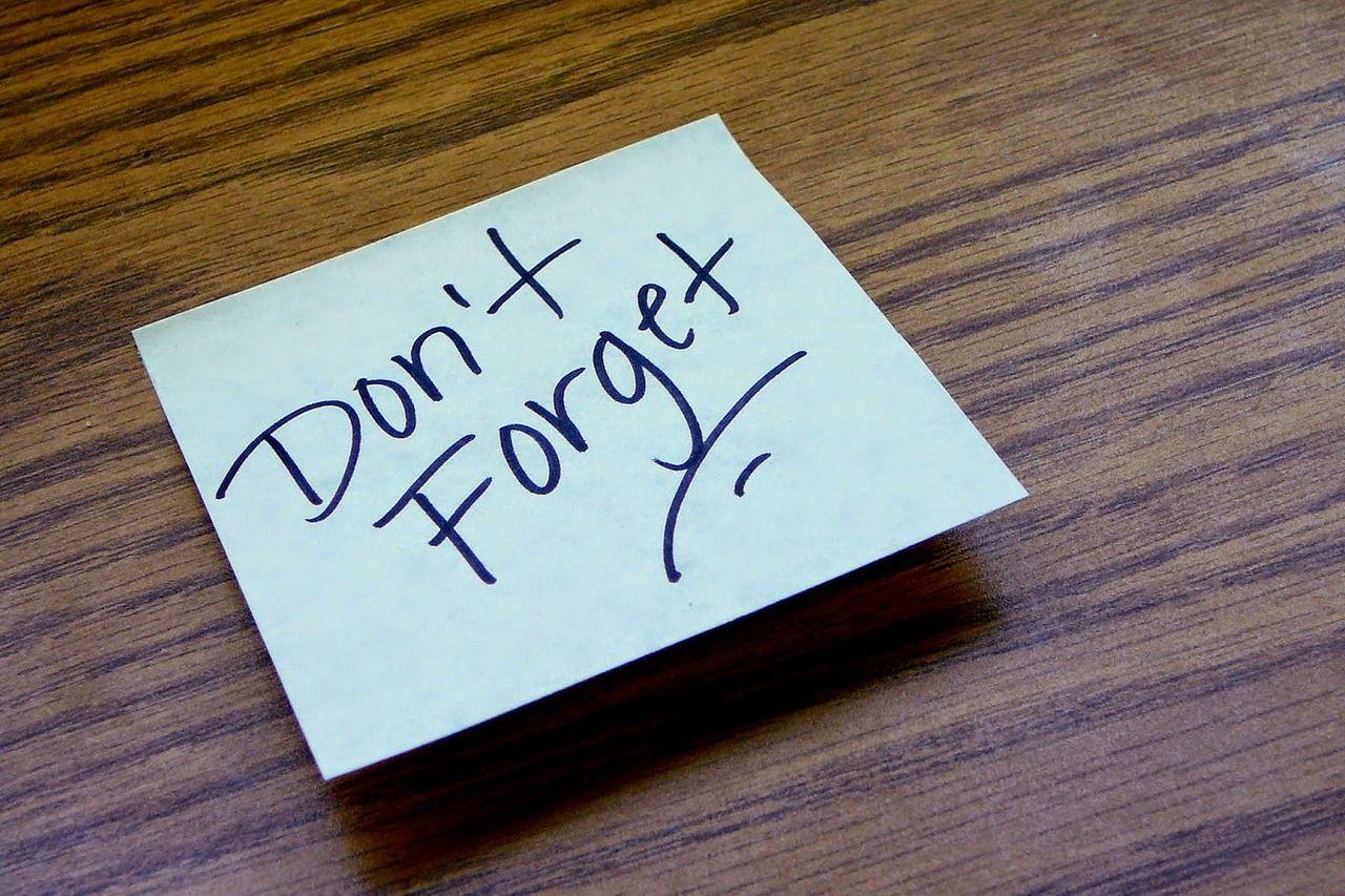 Tips vergeetachtigheid en geheugenproblemen