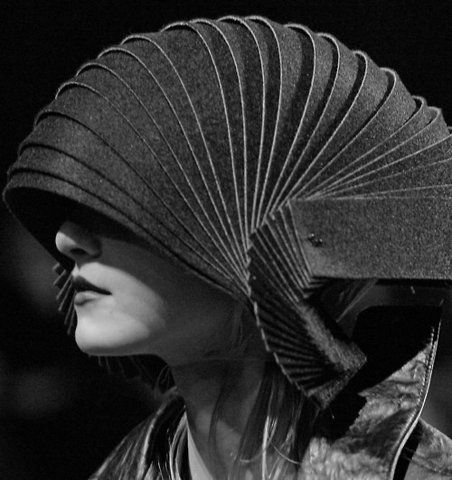 just put an armadillo on your head - voila! Haute Coutiure!
