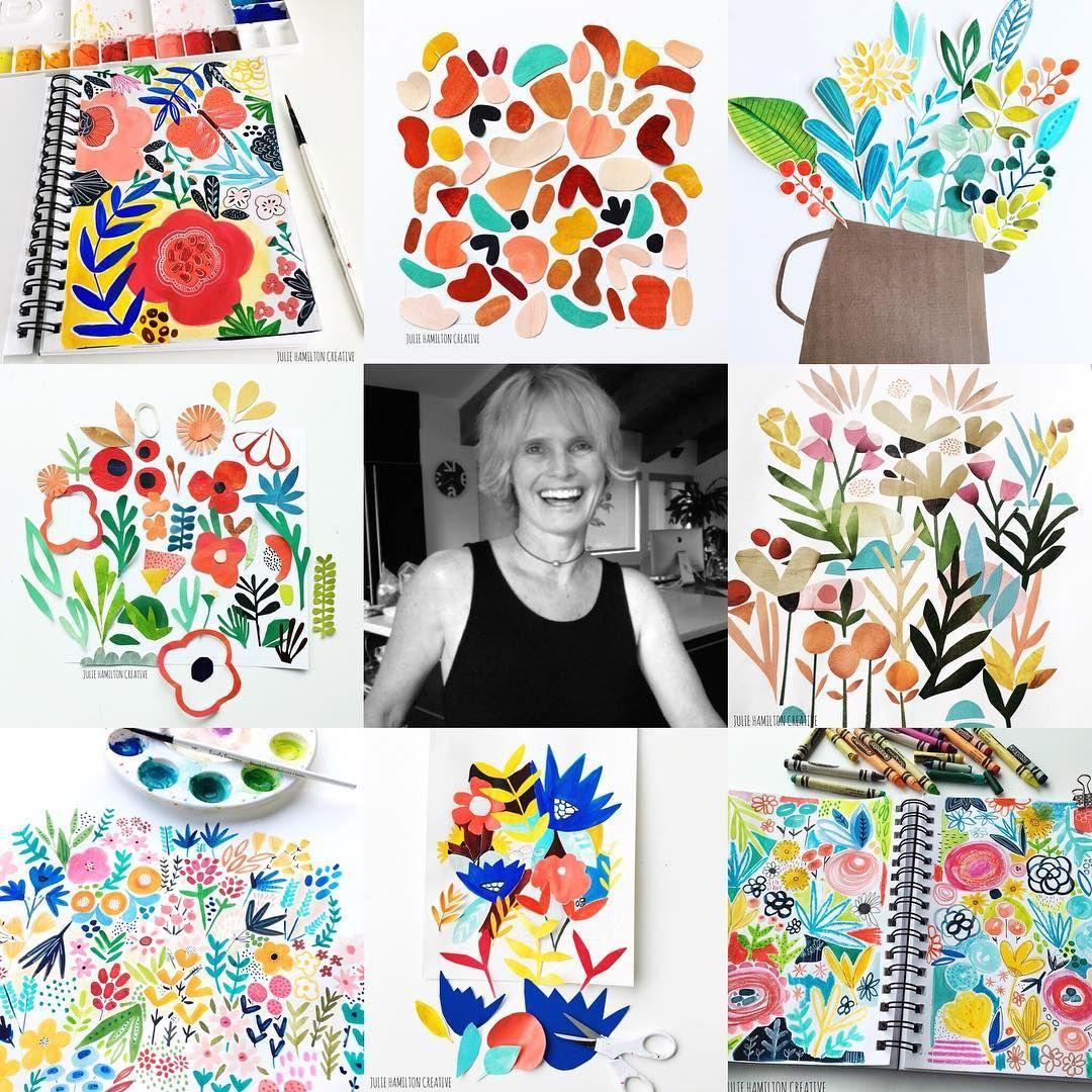 Meet the Maker : Julie Hamilton Creative | Mixed media art ...