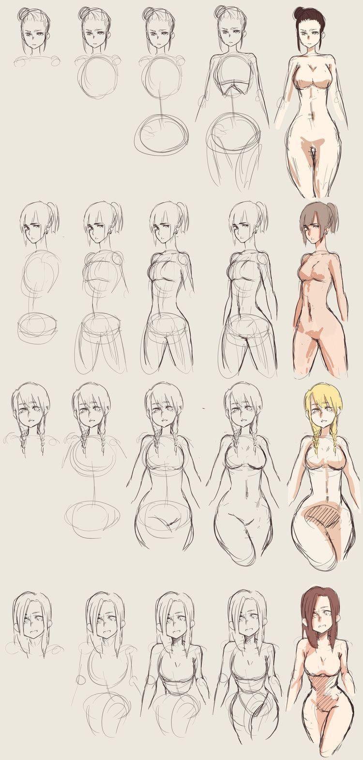 Pin de Stefan Brennecke en Manga   Pinterest   Anatomía, Dibujo y ...