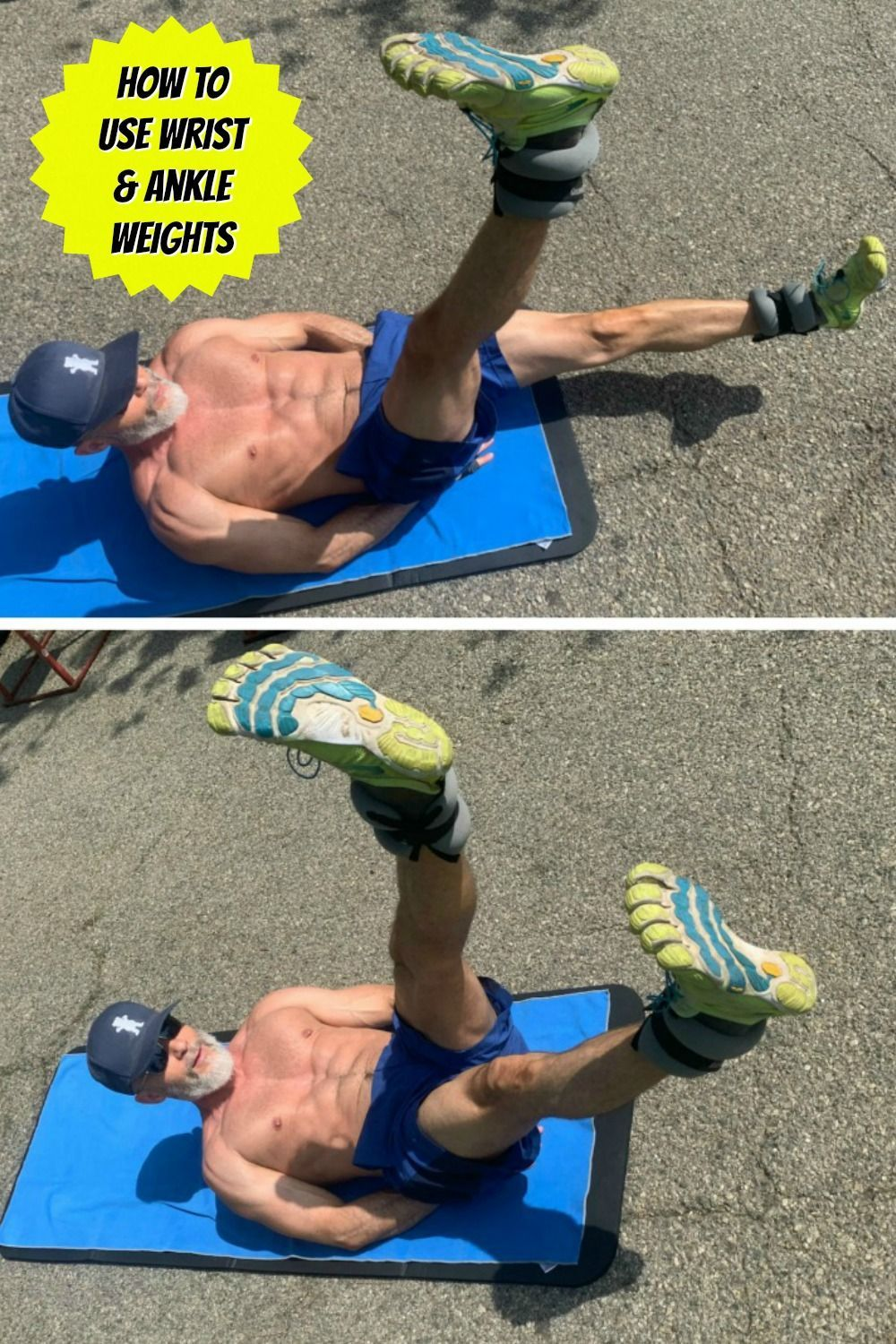 Use Ankle Weights to Sculpt Your Physique • Over Fifty and Fit