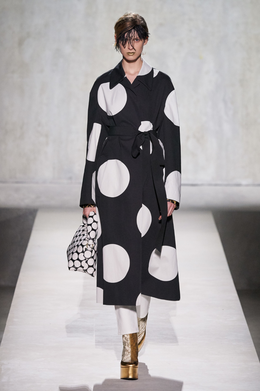Image result for dries van noten spring 2020 polka dots