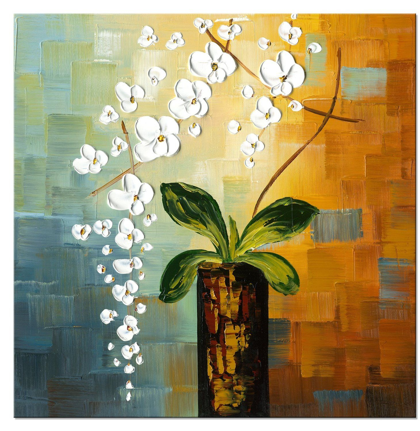 Beauty of lifemodern canvas art wall decorfloral oil