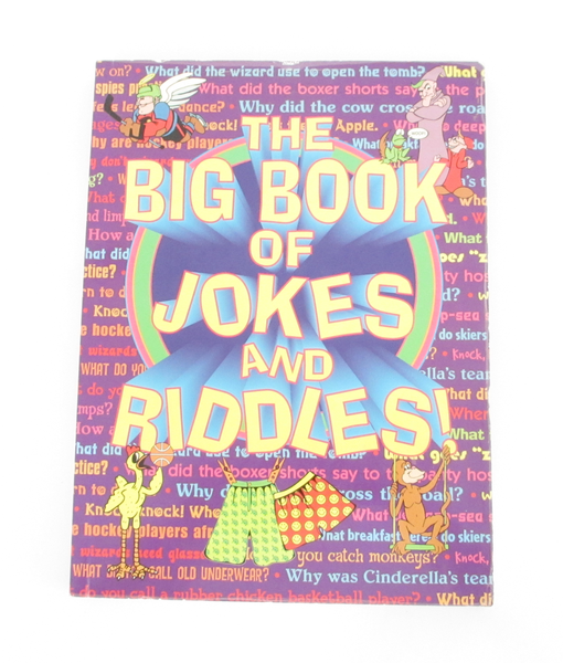 The Big Book Of Jokes and Riddles by Tony Tallarico