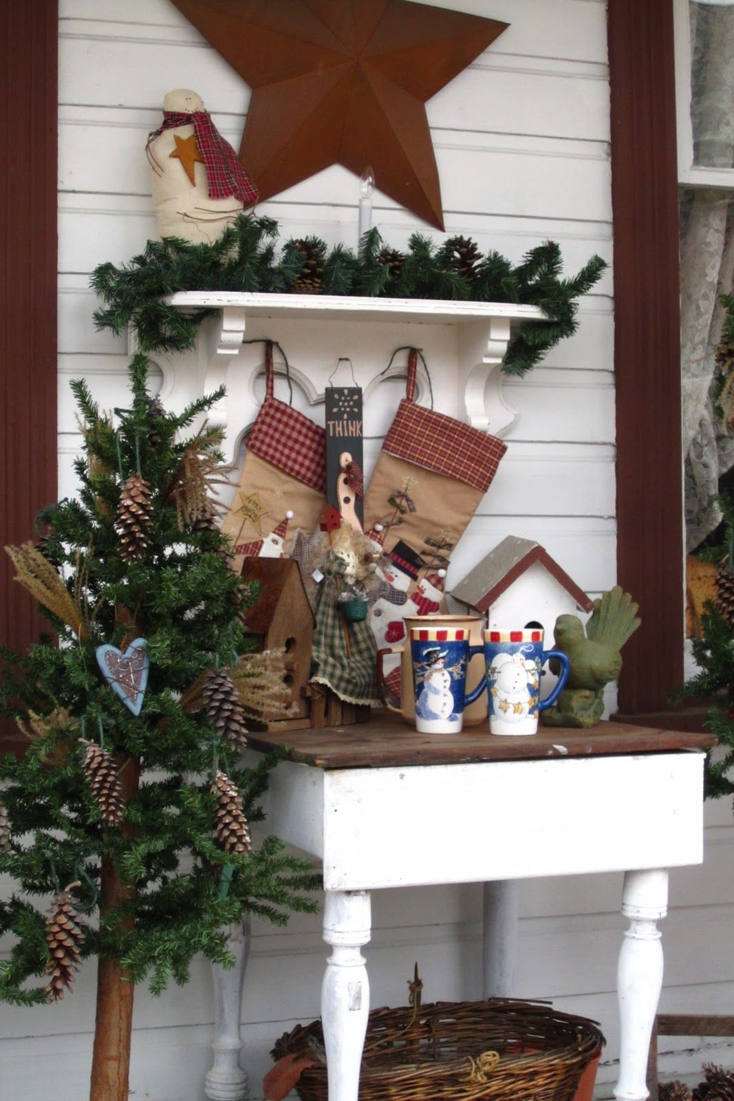 Rustic Country Decorating Ideas #A27