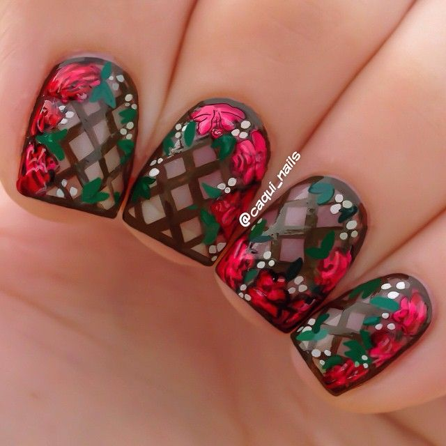 Would love to try this with white lattice instead of the brown