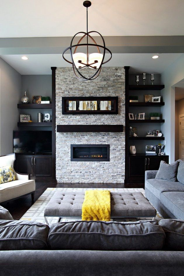 25 Industrial Living Room Design Ideas | Pinterest | Industrial ...