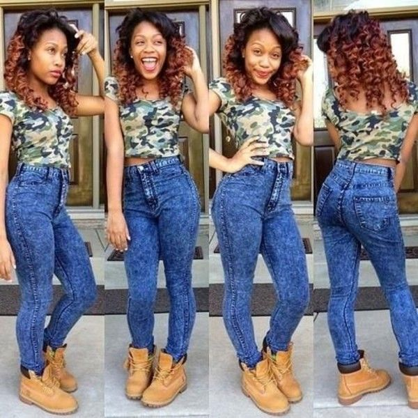 Cute High Waisted Pants Outfits Tumblr