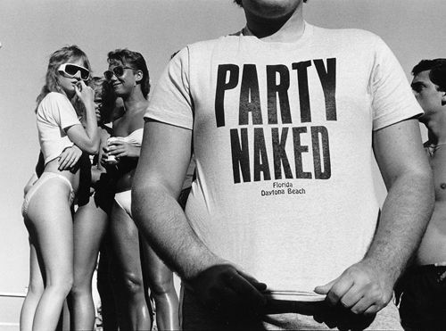 Naked at daytona beach