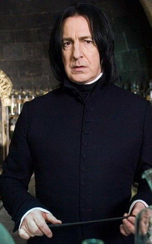 Severus Snape Harry Potter Quiz Severus Snape Alan Rickman