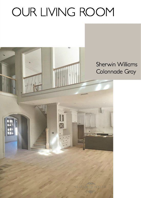 Sherwin williams gray versus greige sherwin williams for Warm neutral grey paint