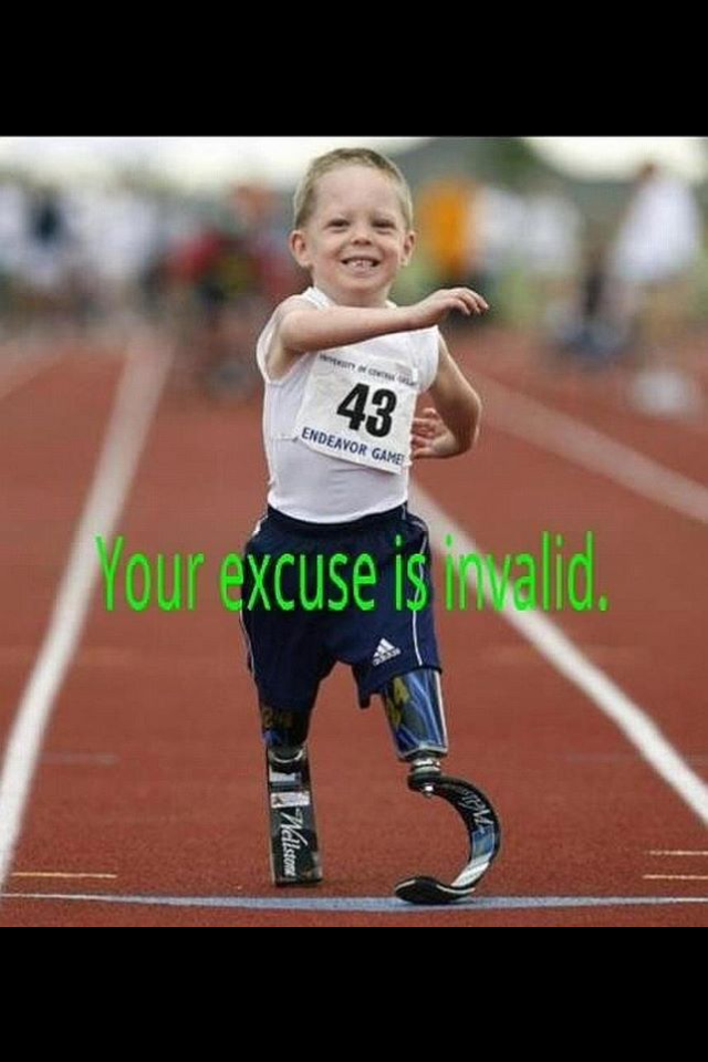 Your excuse is invalid indeed.