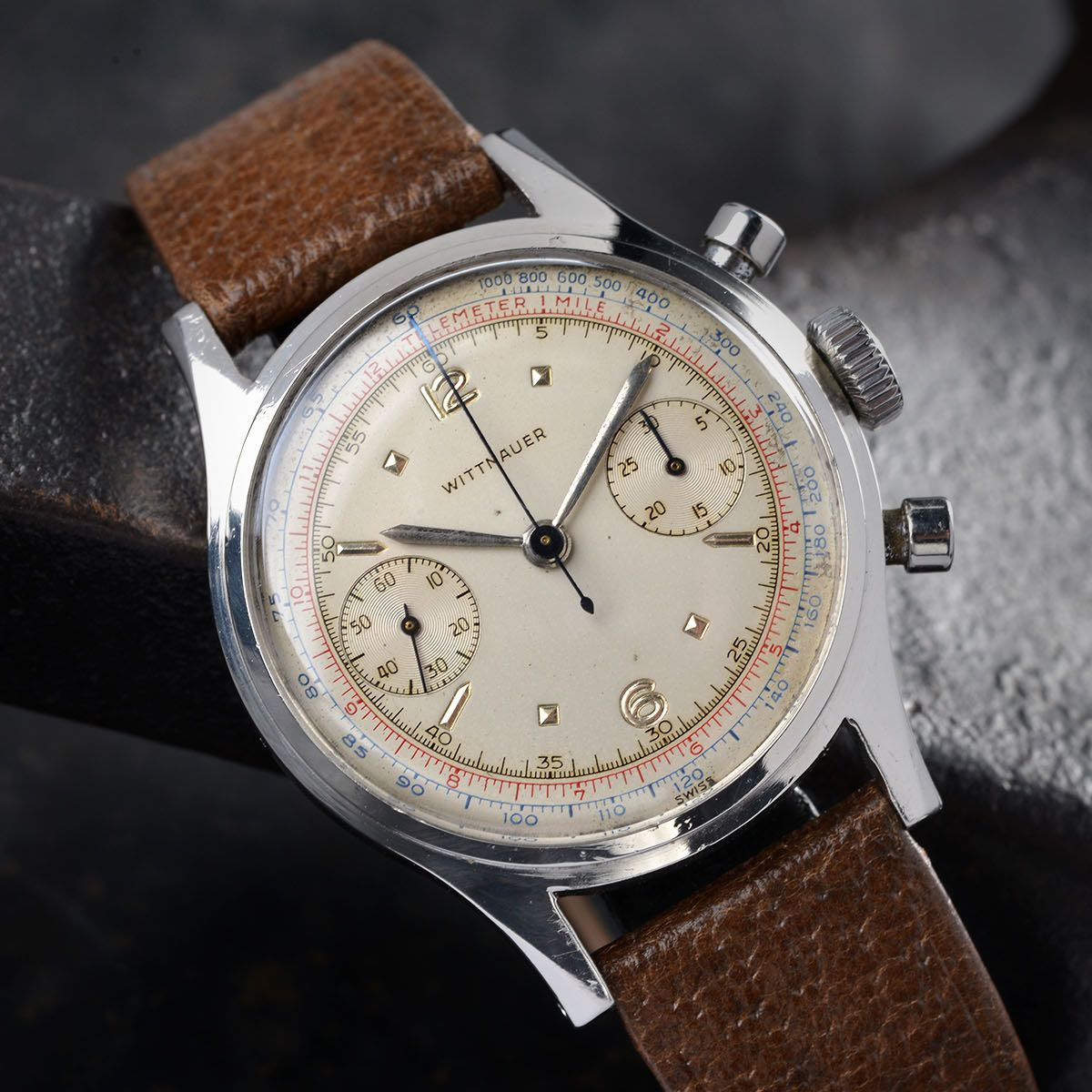 1950s Vintage Gallet Chronograph | Watches - Vintage