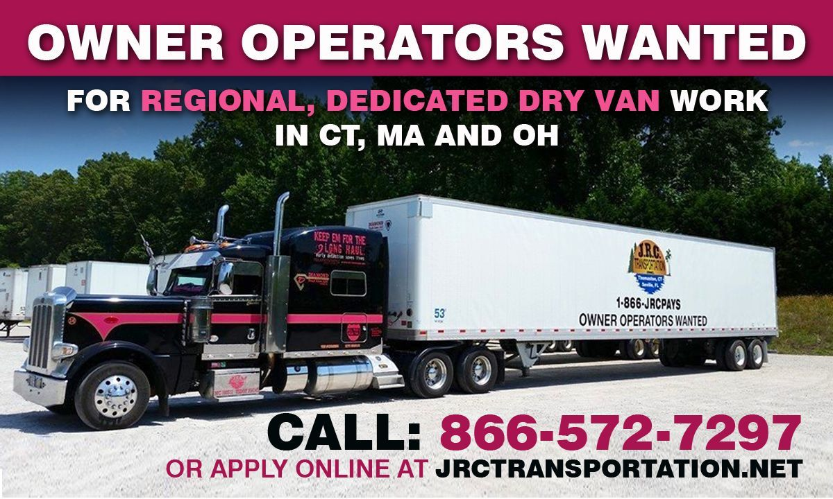 OWNER OPERATORS WANTED for dedicated regional dry van