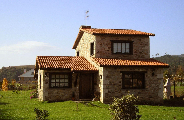 Publicaciones sobre construcciones de casas r sticas en for Casas rusticas de ladrillo