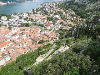 Kotor, Montenegro (along the Adriatic Sea)