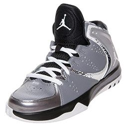 competitive price 62ec4 1648a Boys  Grade School Jordan Phase 23 Hoops II Basketball Shoes    FinishLine.com   Grey Silver Black White