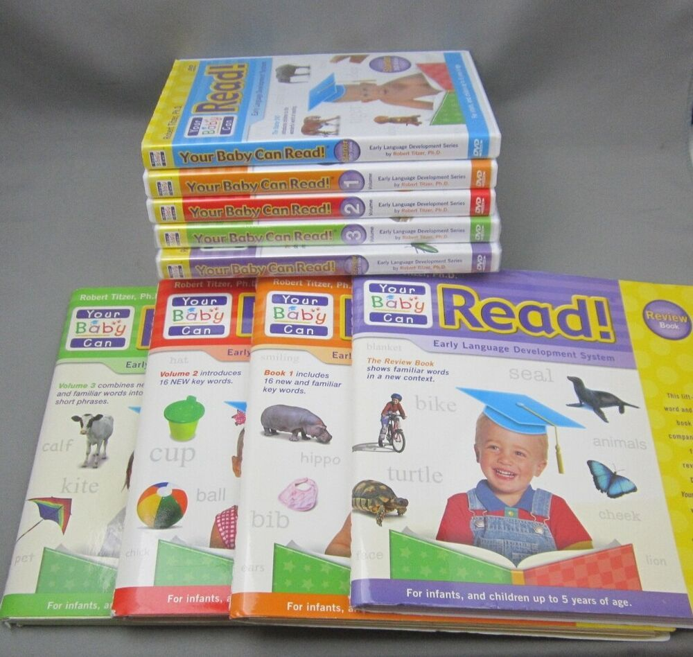 Your Baby Can Read! Early Language Development System 6 ...