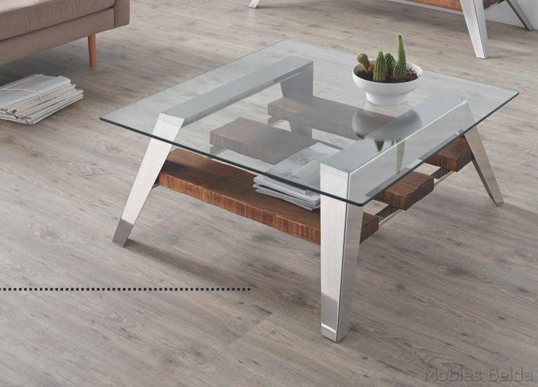Mesa de centro revistero de medidas 90x90x41 cm fabricada - Transportes de muebles ...