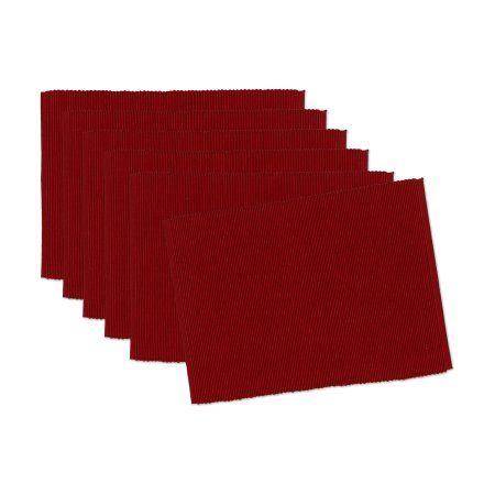 Garnet Placemat, Red