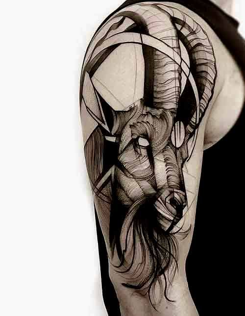 38 Best Nn1 Images On Pinterest: 38 Best Capricorn Tattoos Designs And Ideas With Meanings